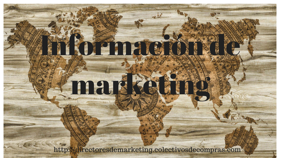 informacion de marketing
